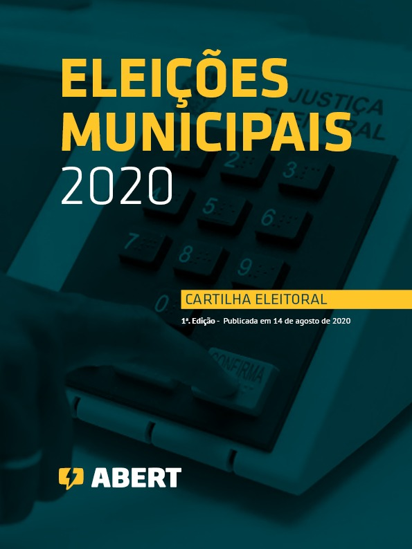 ABERT lança cartilha das eleições municipais de 2020